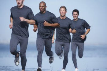 men cardio exercise